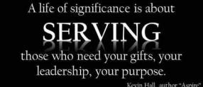 Significance Through Serving Others