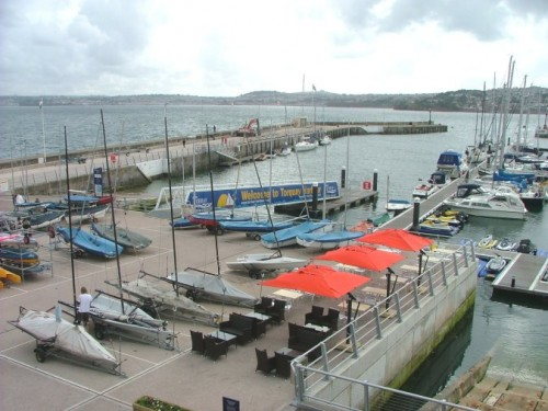 LR Dinghy Hard, slipway and town dock