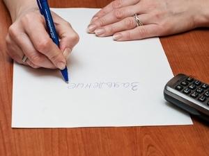 Как писать заявление в полицию о краже