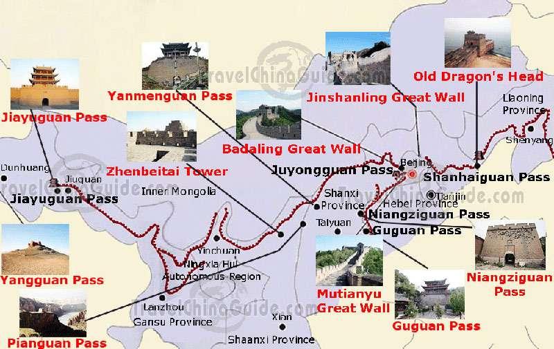 Velikaya Kitajskaya Stena Istoriya Fakty Mify Legendy Velikaya Kitajskaya Stena Dlina Kitajskoj Steny V Km Na Karte