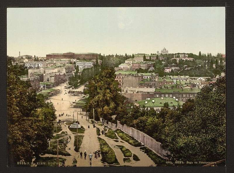 Юг России в цветных фотографиях конец 19 и начало 20 века