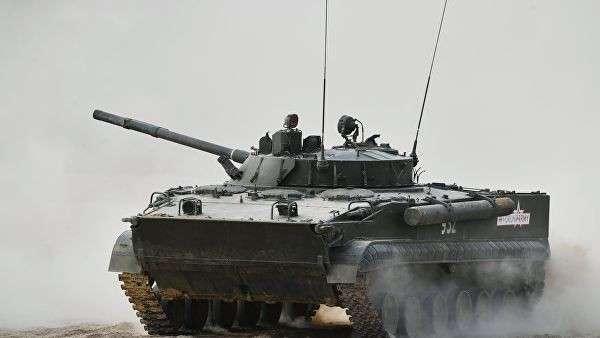 Боевая машина пехоты БМП-3