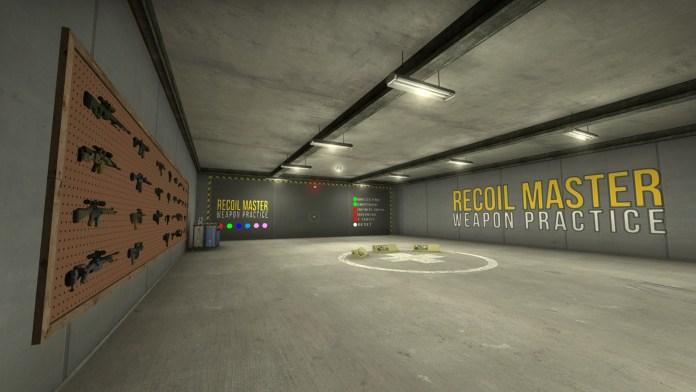 Скачать карту Recoil Master для CS:GO
