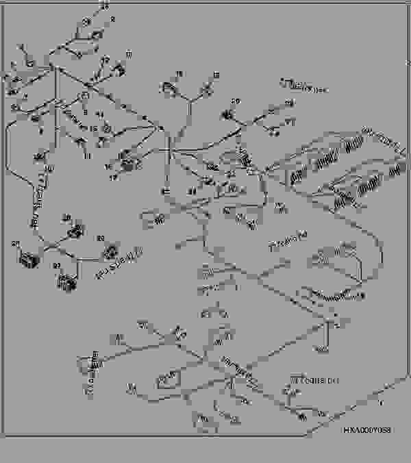 Chassis Wiring Harness Connectors (1/3) (ILS) (40K