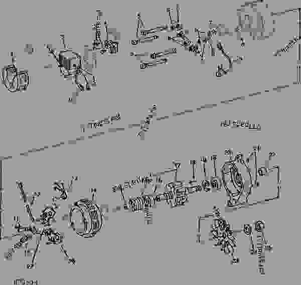ALTERNATOR AND VOLTAGE REGULATOR ( 90 AMP ) MOTOROLA