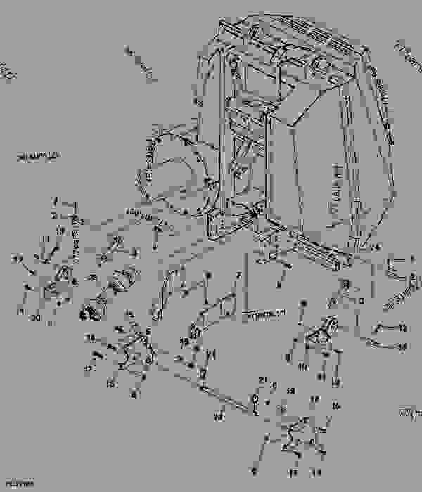 John deere x304 parts diagram