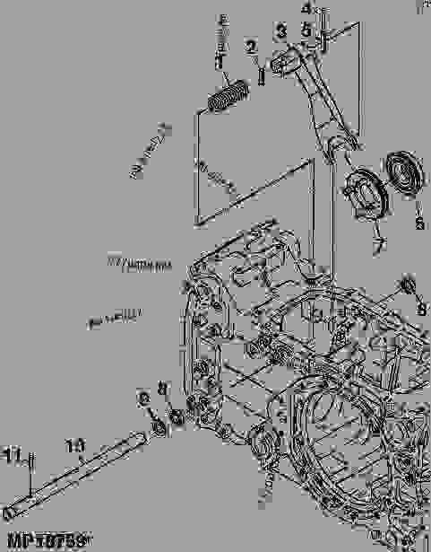 John deere 3020 clutch diagram