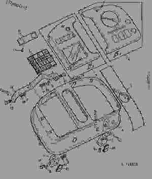 John Deere 4440 Wiring Diagram | Wiring Source