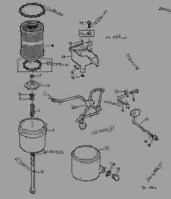 TRANSMISSION OIL FILTER AND LUBRICATING LINES [02E01