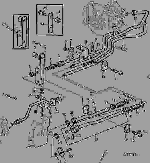 John Deere L120 Seat Wiring Diagram John Deere L120 Serial