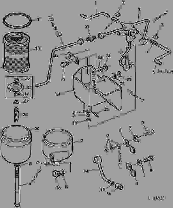 TRANSMISSION OIL FILTER/OIL LINES/OIL CUP [01J19