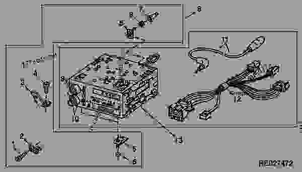 John Deere Radio Wiring, John, Free Engine Image For User