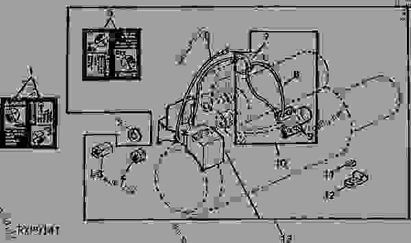John Deere M Starter Wiring Diagram. John Deere Exhaust
