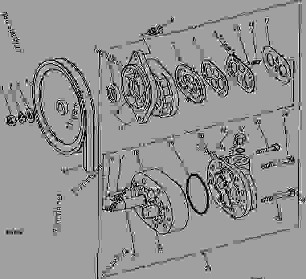 HYDROSTATIC DRIVE REEL HYDRAULIC PUMP AND SHEAVE [04F03