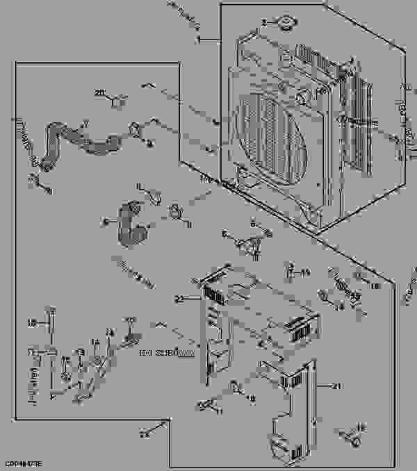 Diagram John Deere Motor 4045. Diagram. Tractor Engine And