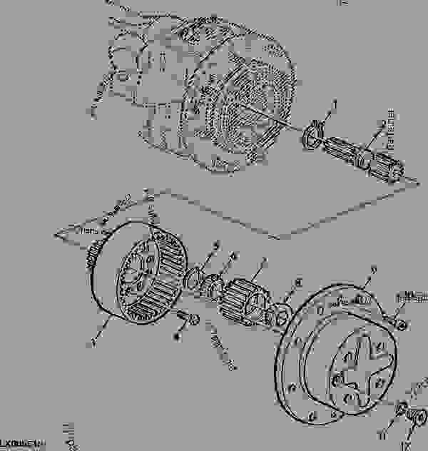 PLANETARY DRIVE, MFWD-AXLE(APL2045 / AS2045) (30 OR 40KMH