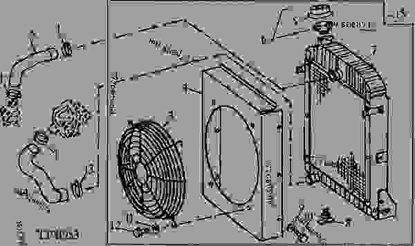 RADIATOR, FAN SHROUD AND GUARD KIT (4239T) [H22