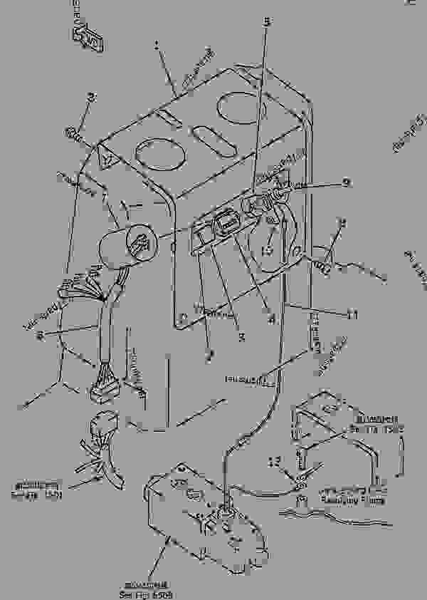 INSTRUMENT PANEL (ADDITIONAL VALVE FOR BREAKER