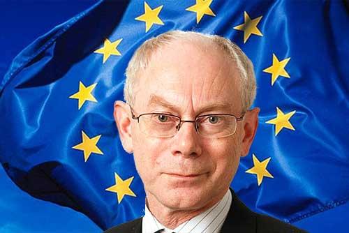 Президент Европейского Союза Херман ван Ромпей