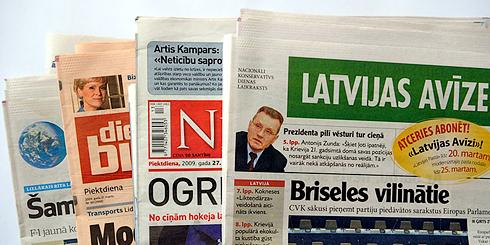 Пресса Латвии