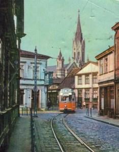 Трамвай -- один из символов Лиепаи