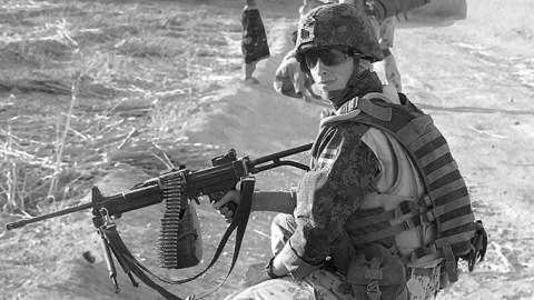 Капрал Аргис Хутроф |  Фото: Силы обороны Эстонии
