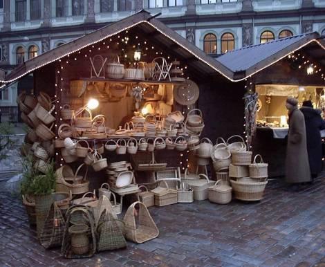 Рождественский рынок в Таллинне входит в число 10-ти лучших рождественских рынков Европы