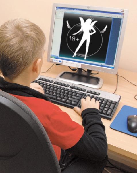 Дети легко справляются с преградами на интернет сайтах для взрослых