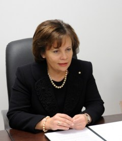 Министр охраны края Литвы Раса Юкнявичене