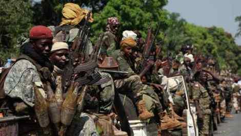 Переворот в Центрально-Африканской республике