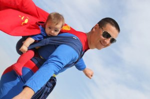 Супермены в слинге