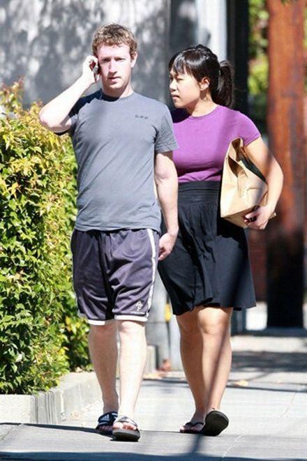 mark Zuckerberg's girlfriend