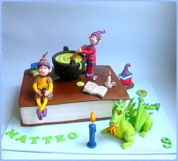 Торты на день рождения (42 фото)