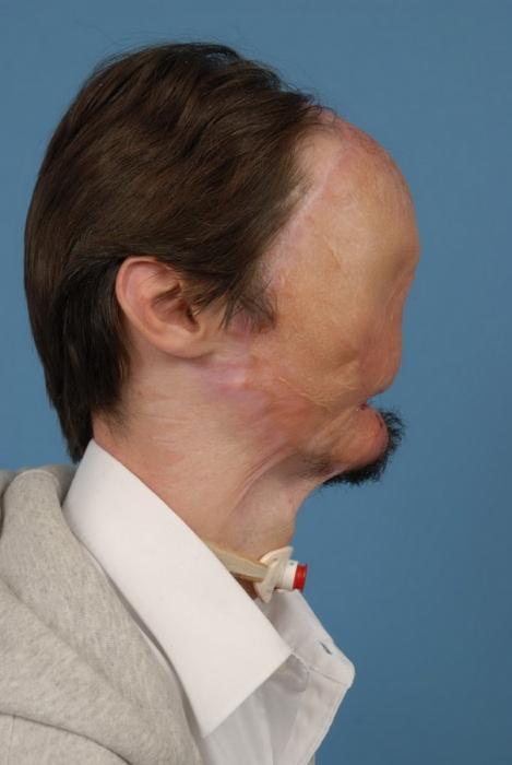 Человек без лица (10 фото)