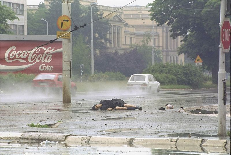 Ретроспектива: война в Боснии (13 фото)
