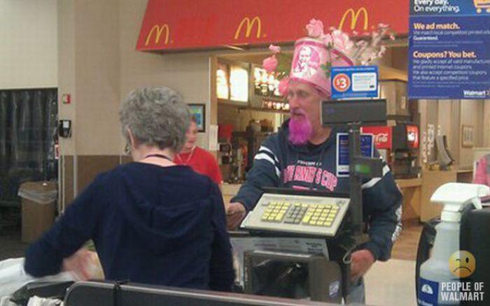 Интересные люди в супермаркетах. Часть 7. (53 фото)