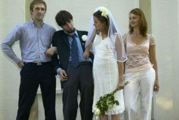 Самое нелепое и смешное со свадебных церемоний (49 фото)
