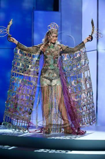 Мисс Вселенная - национальные костюмы (88 фотографий), photo:42