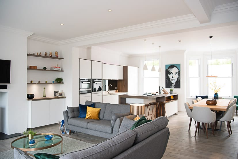 How To Coordinate Your Kitchen Open Plan Living Space Ruach Designs