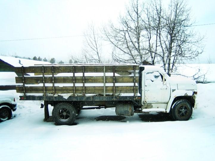 Truck in Breckenridge