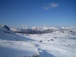 Towards Ben Necvis from Glencoe Mountain Resort