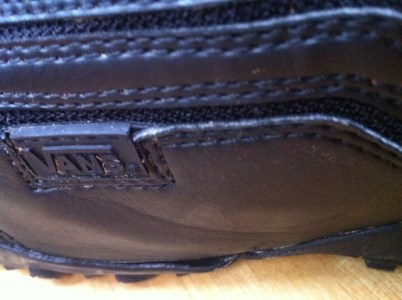 2fbe4f5b1c Vans Cirro 2011. Left boot showing where sole is parting from leather upper.  Less