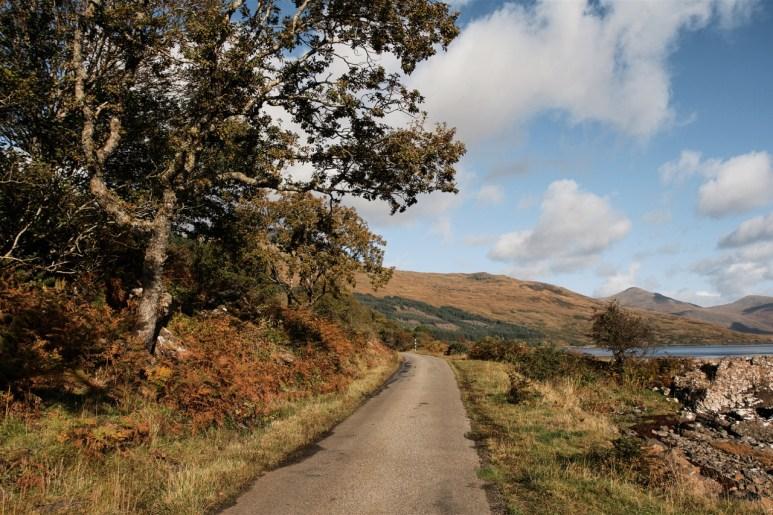 West bank of Loch Scridain
