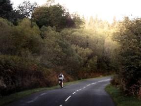 Before the big hill at Lochranza