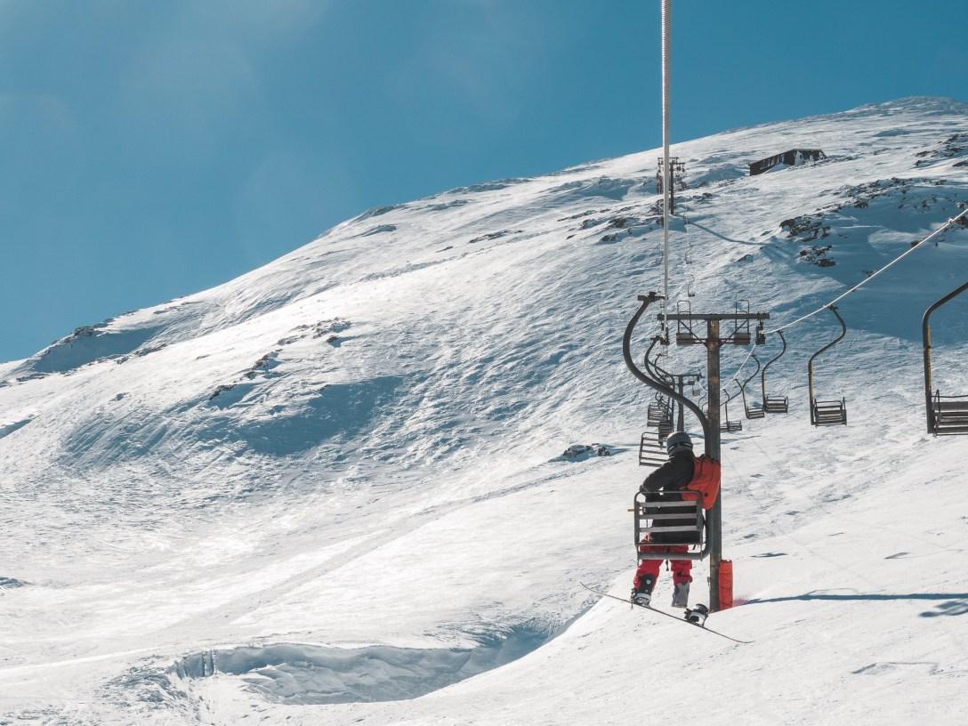 Cliffhanger chairlift