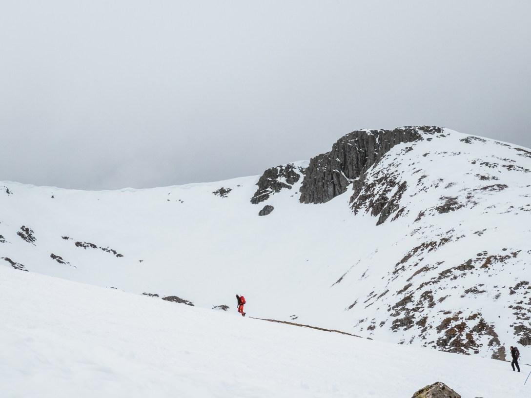 Hiking Meall a'Bhiuridh
