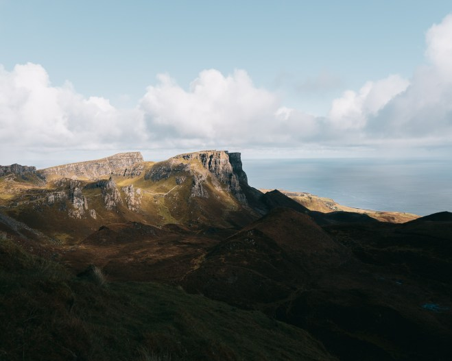 view from the Quiraing