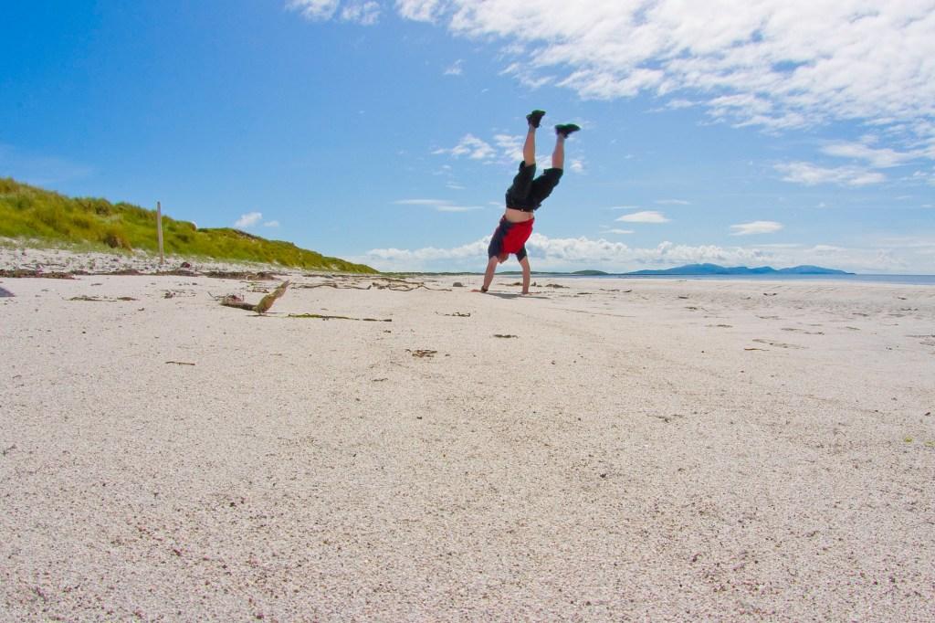 Daliburgh beach