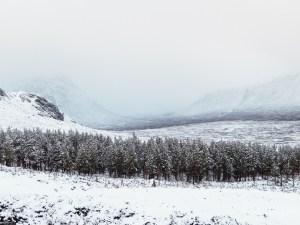 Towards Glencoe itself