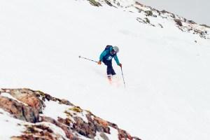 skiing Spring Run at Glencoe